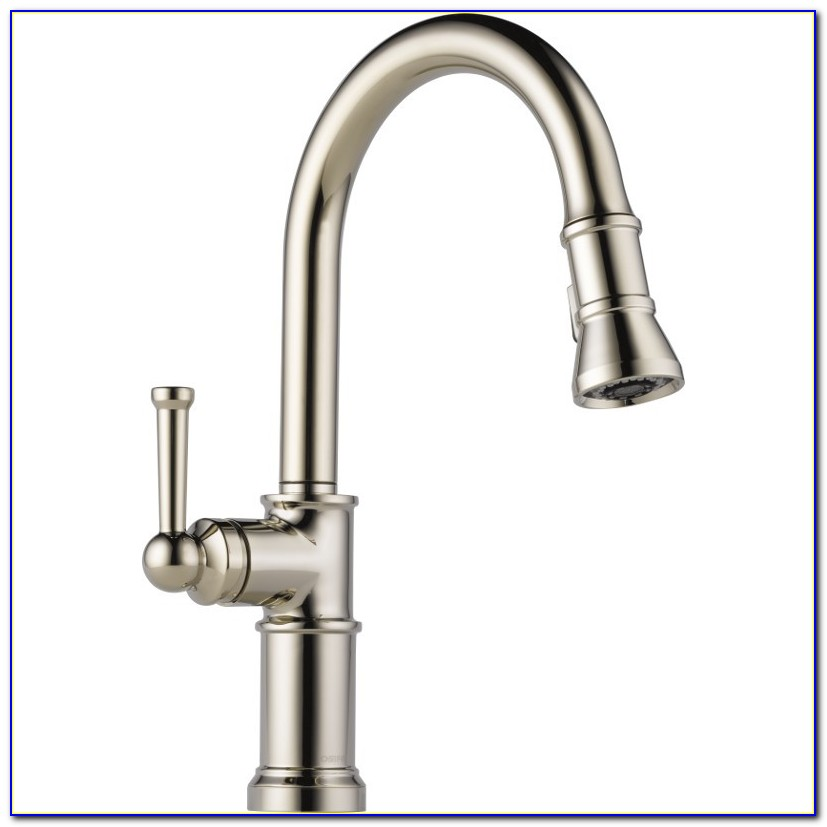 One Handle Kitchen Faucet With Side Spray