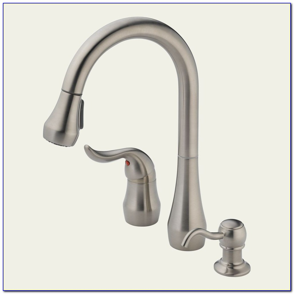 Peerless Pull Down Kitchen Faucet Brushed Nickel