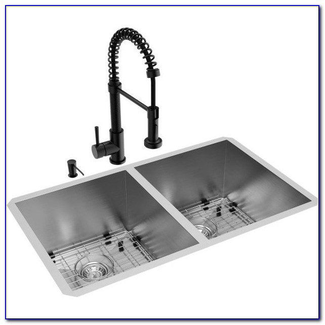Pictures Of Black Kitchen Sinks And Faucets