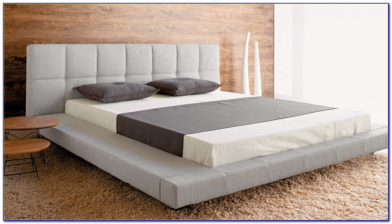 Platform Beds With High Headboards