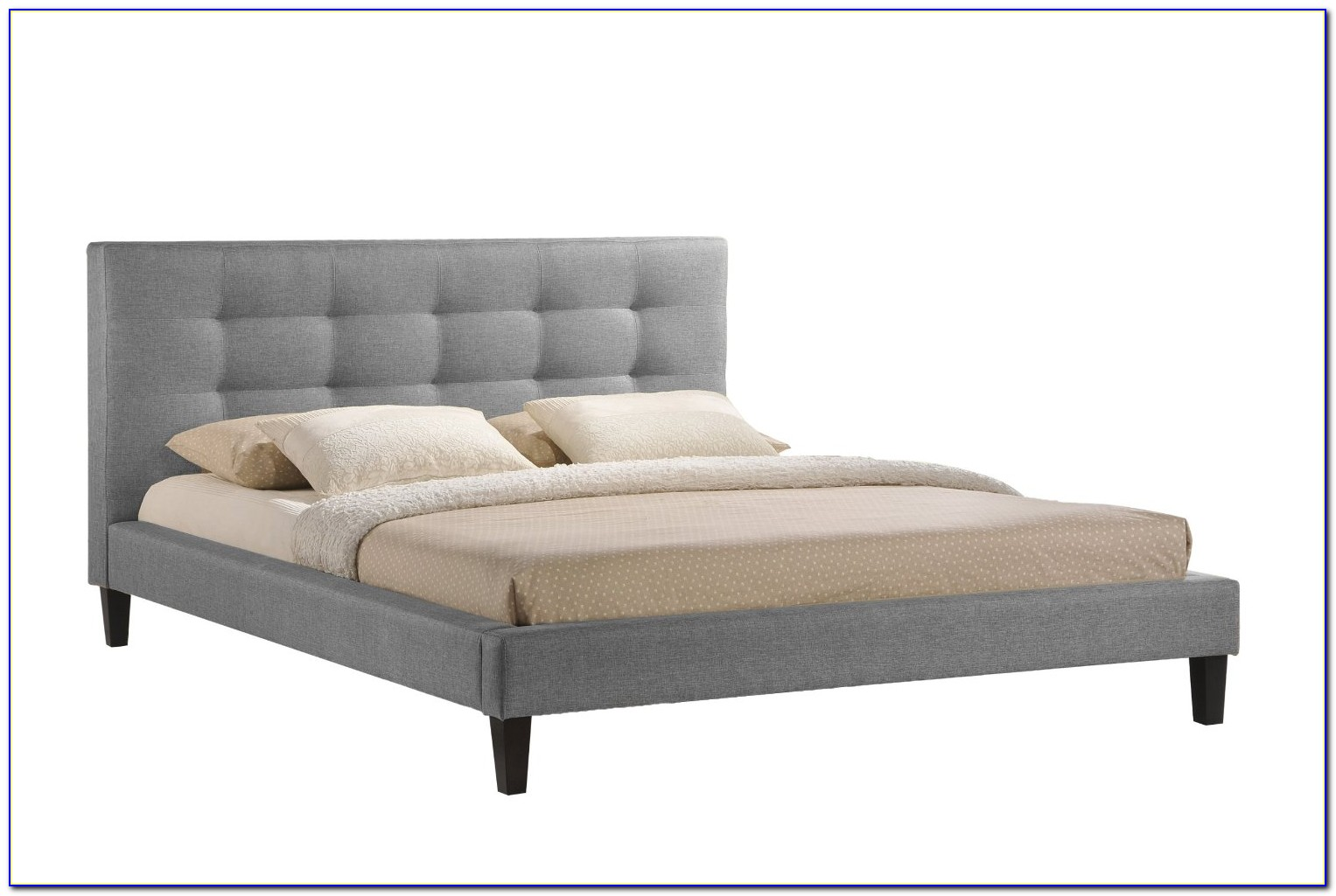 Platform Beds With Low Headboards