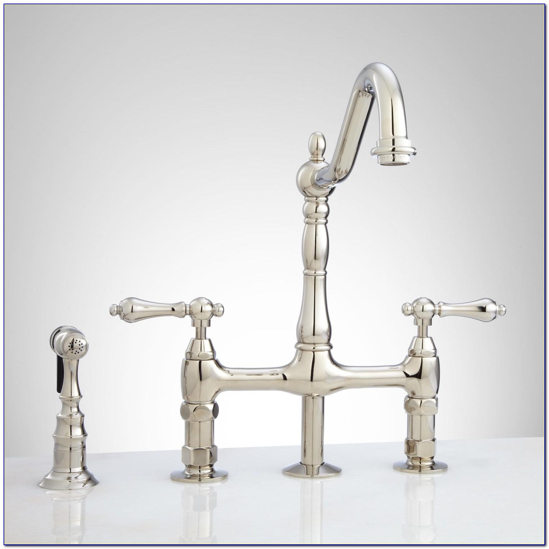 Polished Nickel Kitchen Faucet Amazon