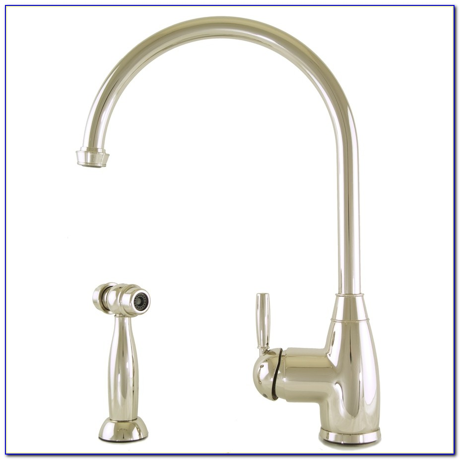 Polished Nickel Kitchen Sink Faucets