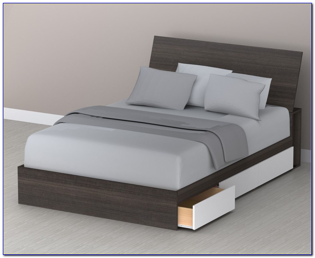Queen Bed Frame Headboard Dimensions