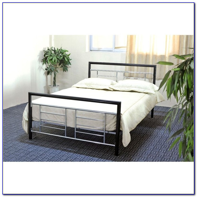 Queen Bed Frame With Head And Footboard