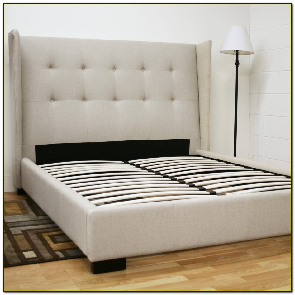 Queen Bed Frame With Headboard And Footboard Brackets