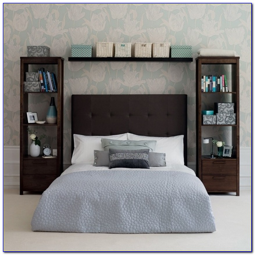 Bedhead Storage Ideas Idi Design Diy Headboard With Storage