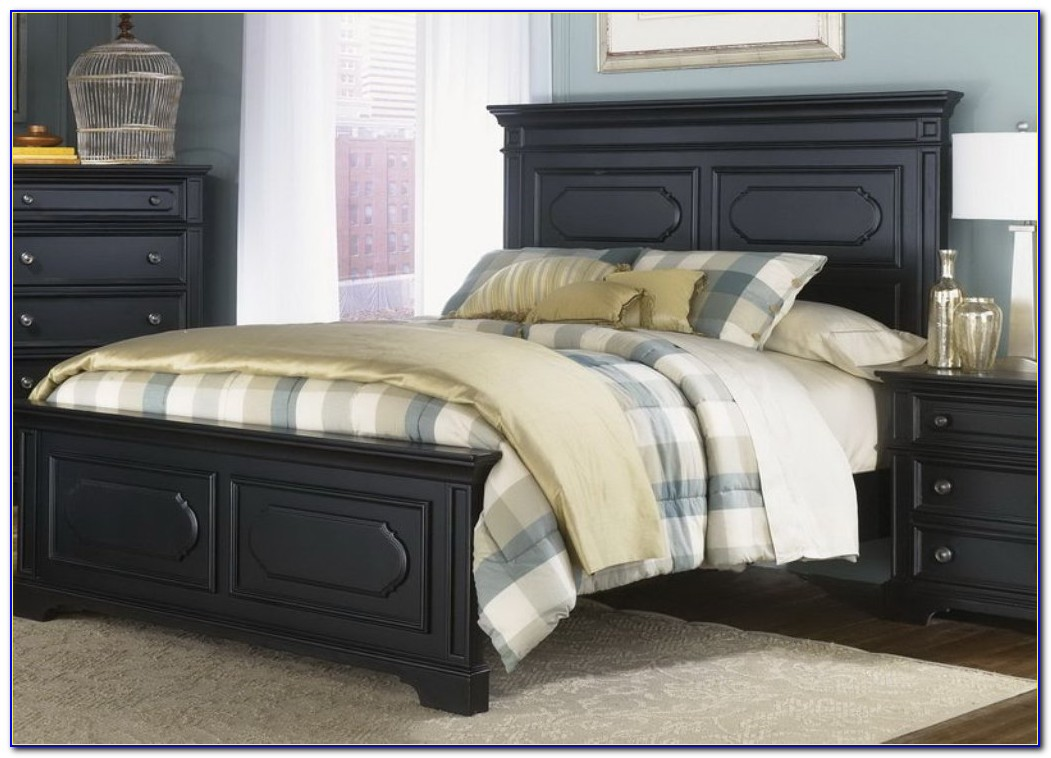 Queen Bed Headboard And Footboard Set