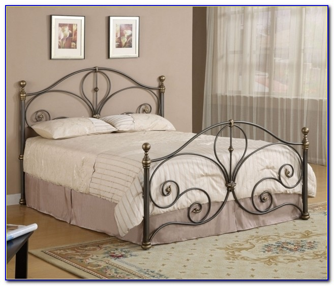 Awesome Wrought Iron Full Size Headboard And Footboard Sets With Beautiful With Regard To Full Size Headboard And Footboard Sets