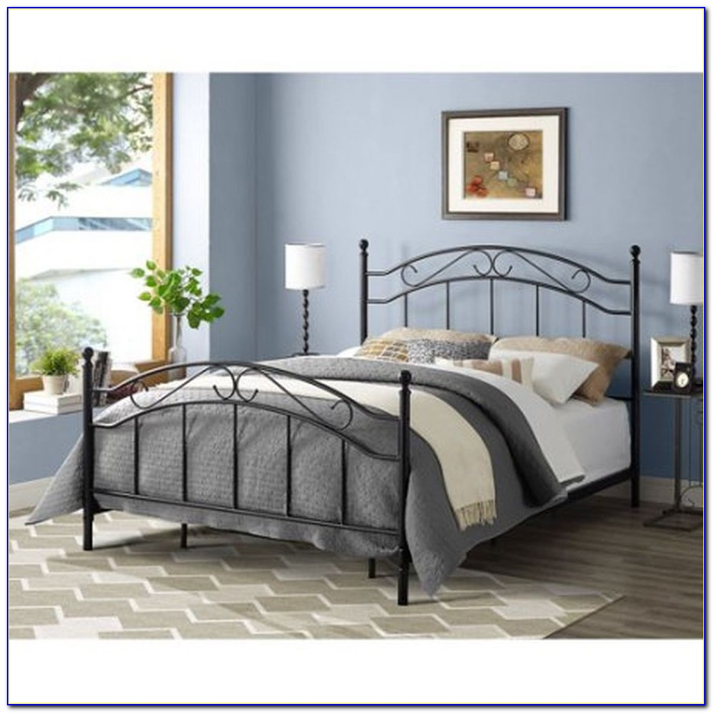 Queen Size Bed Frame Headboard Footboard