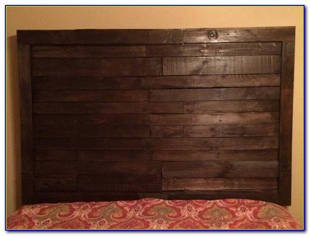 Reclaimed Wood King Size Headboard