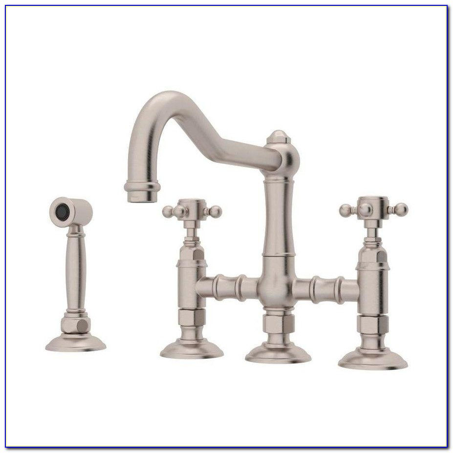Rohl Wall Mounted Country Kitchen Bridge Faucet