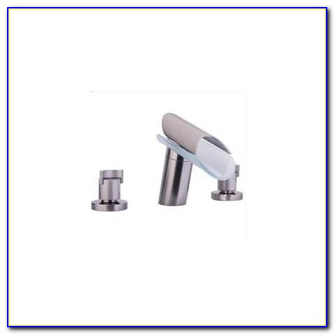 Roman Tub Faucet Brushed Nickel Delta