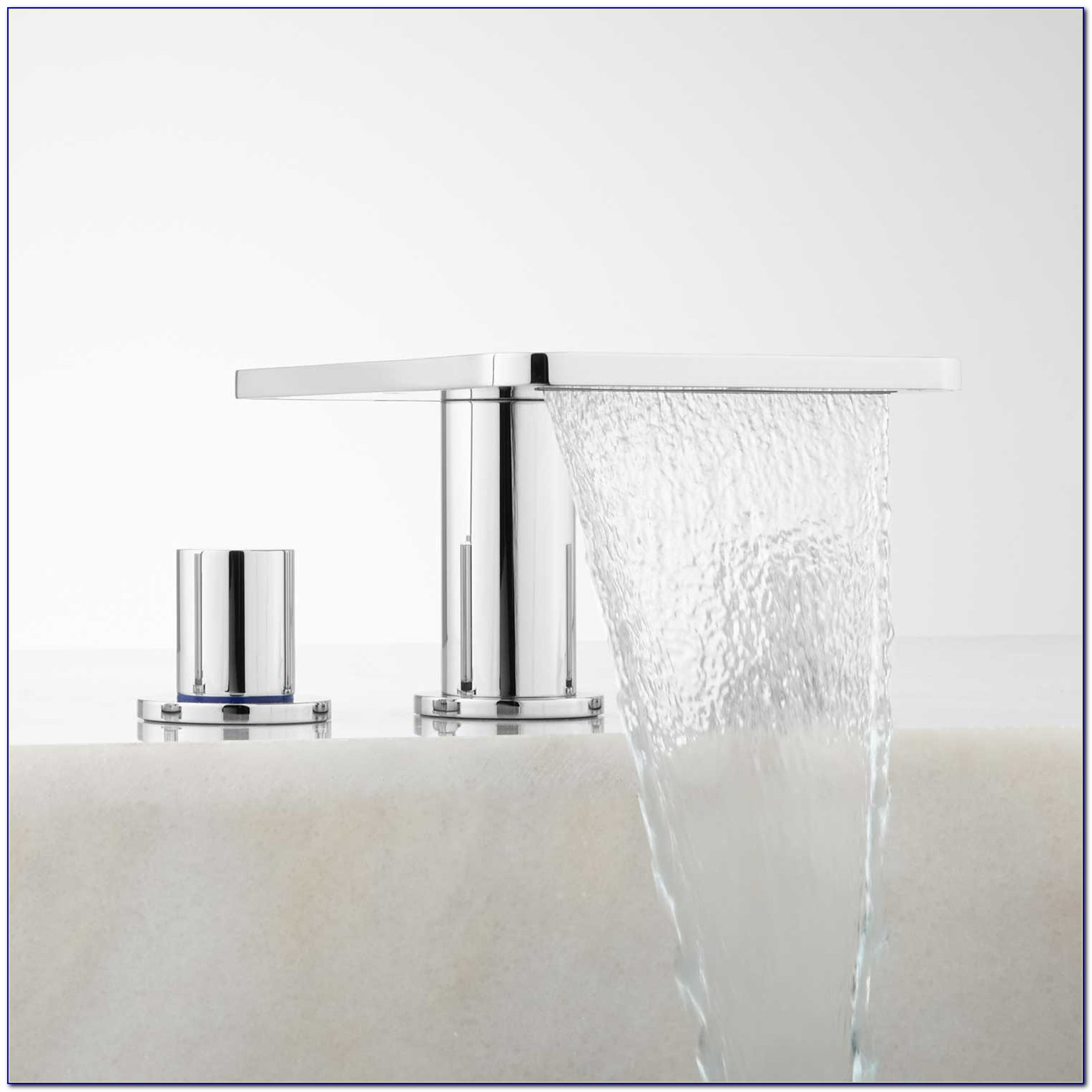 Roman Tub Waterfall Faucet With Hand Shower