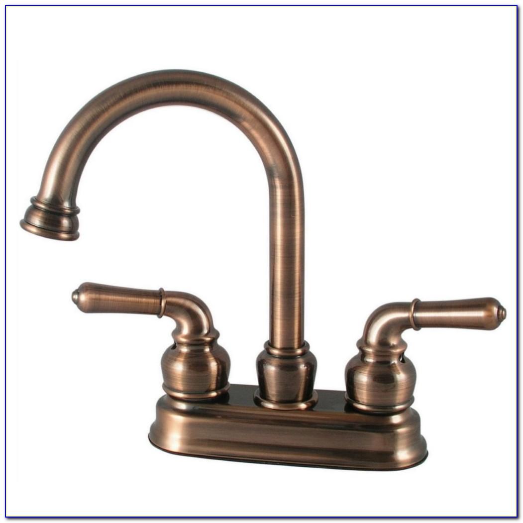Rubbed Bronze Bathroom Faucets