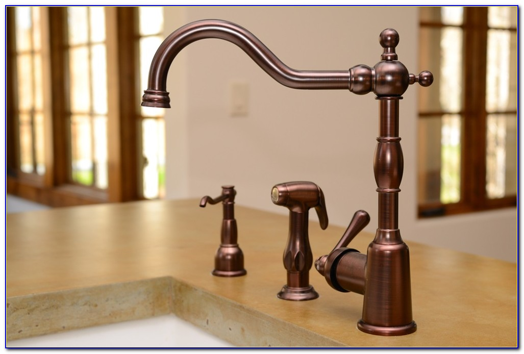 Rubbed Oil Bronze Kitchen Faucet