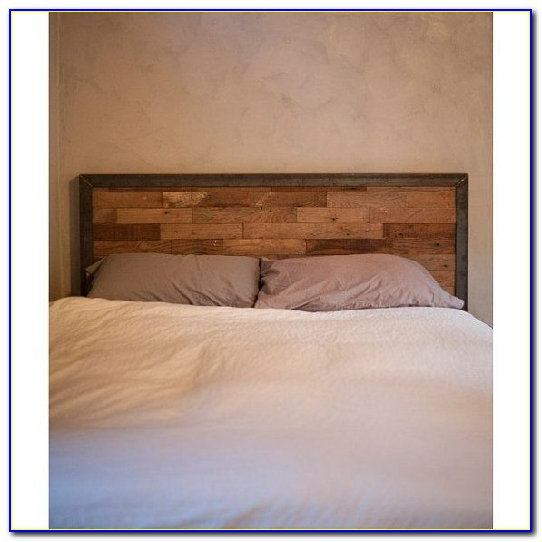 Rustic Metal And Wood Headboards
