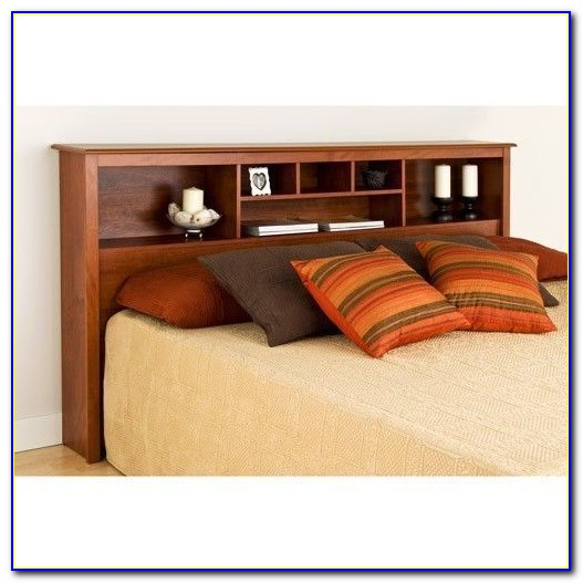 Single Bed With Storage In Headboard