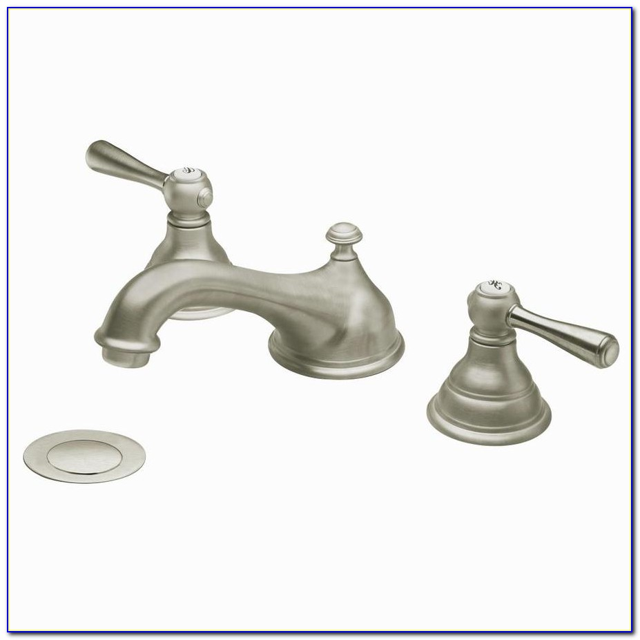 Single Handle Bathroom Sink Faucet Brushed Nickel