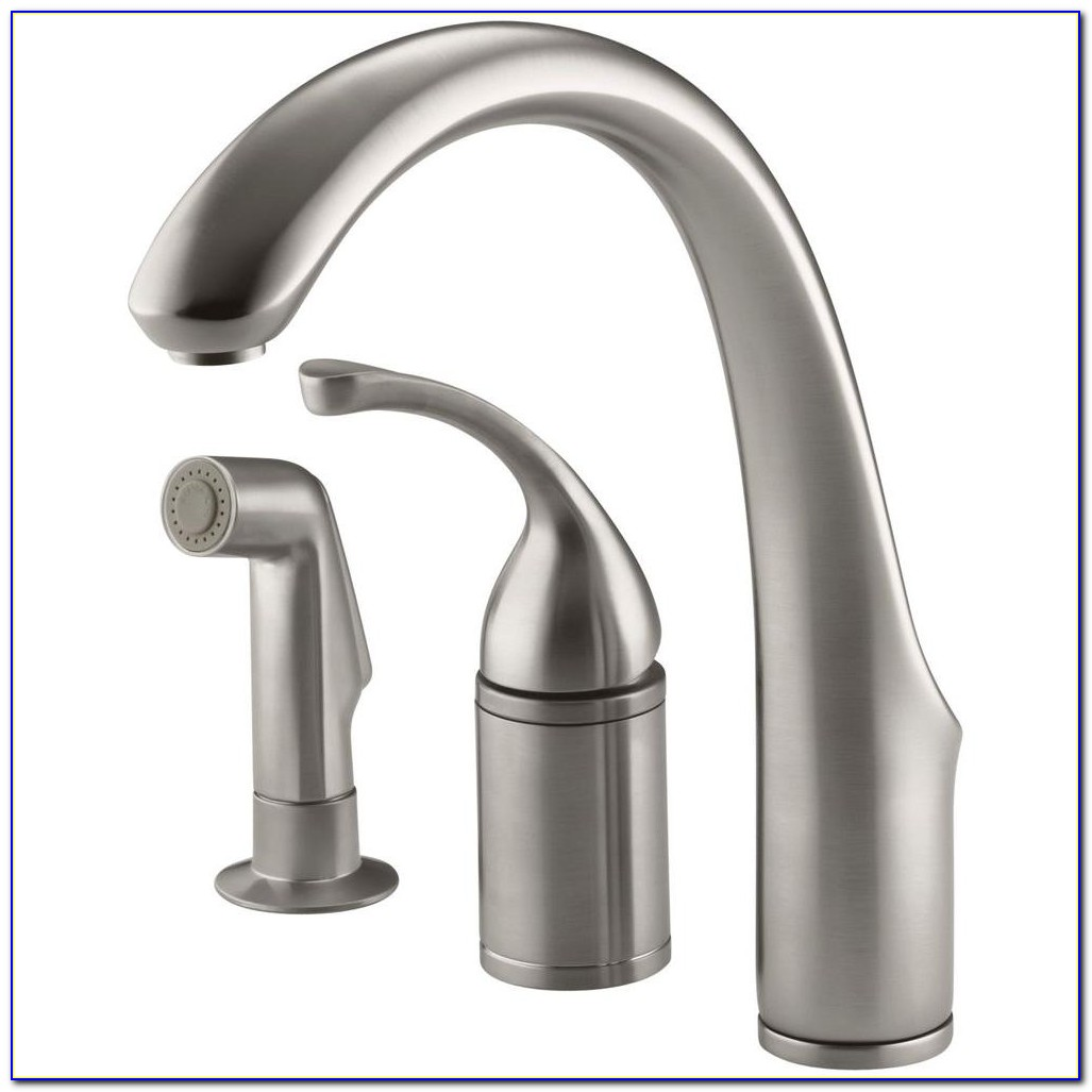 Single Handle Kitchen Faucet With Separate Spray