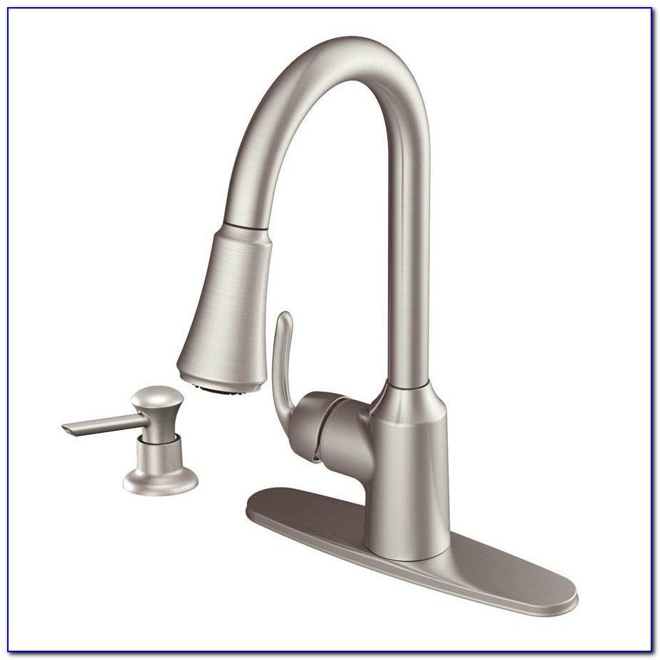 Single Handle Moen Kitchen Faucet