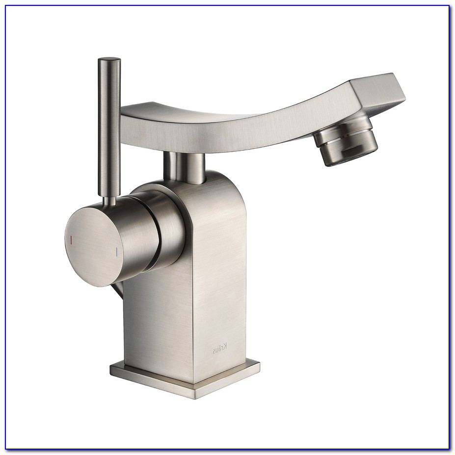 Single Hole Bath Faucet Brushed Nickel