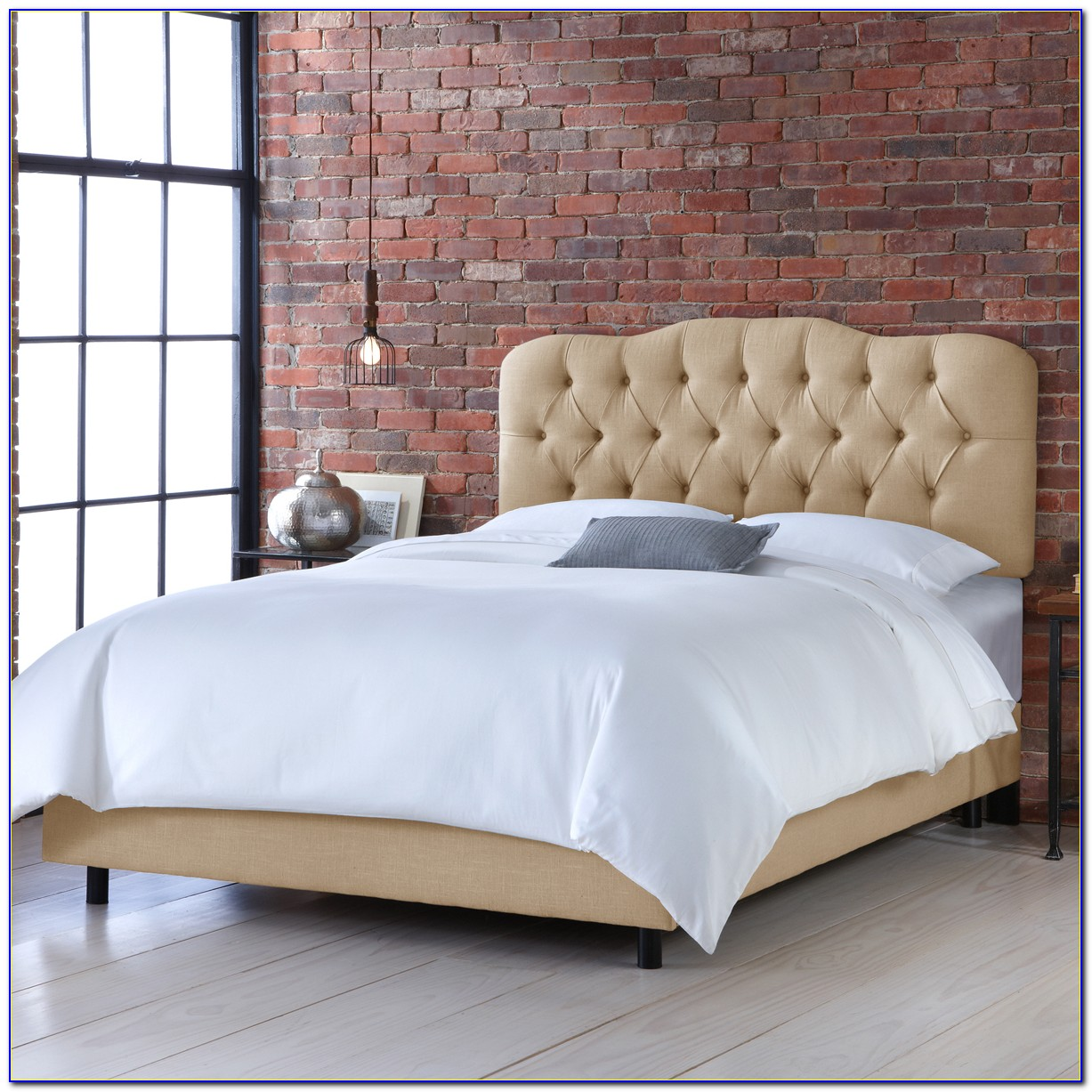 Skyline Furniture Zoe Tufted Headboard