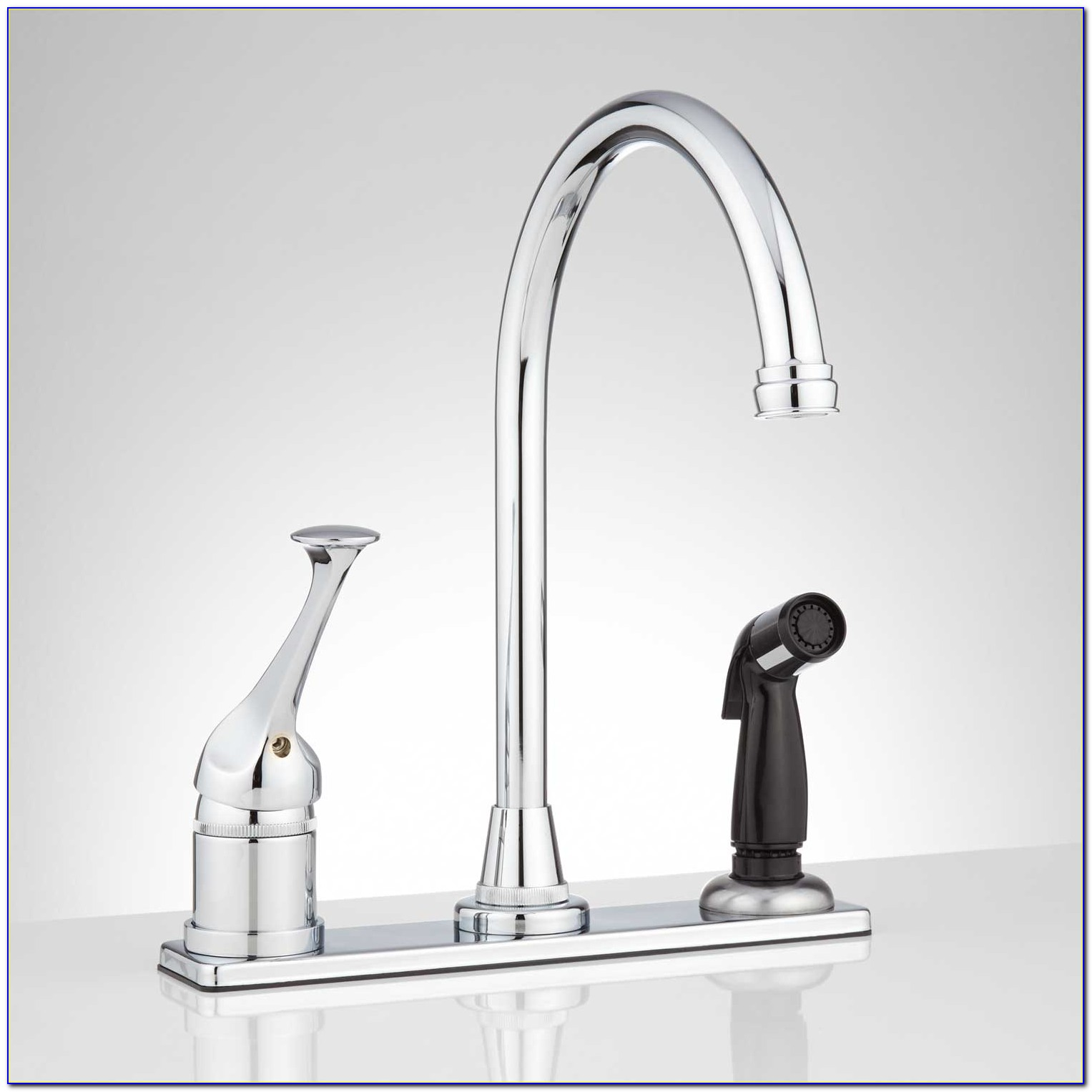 Slop Sink Faucet With Sprayer