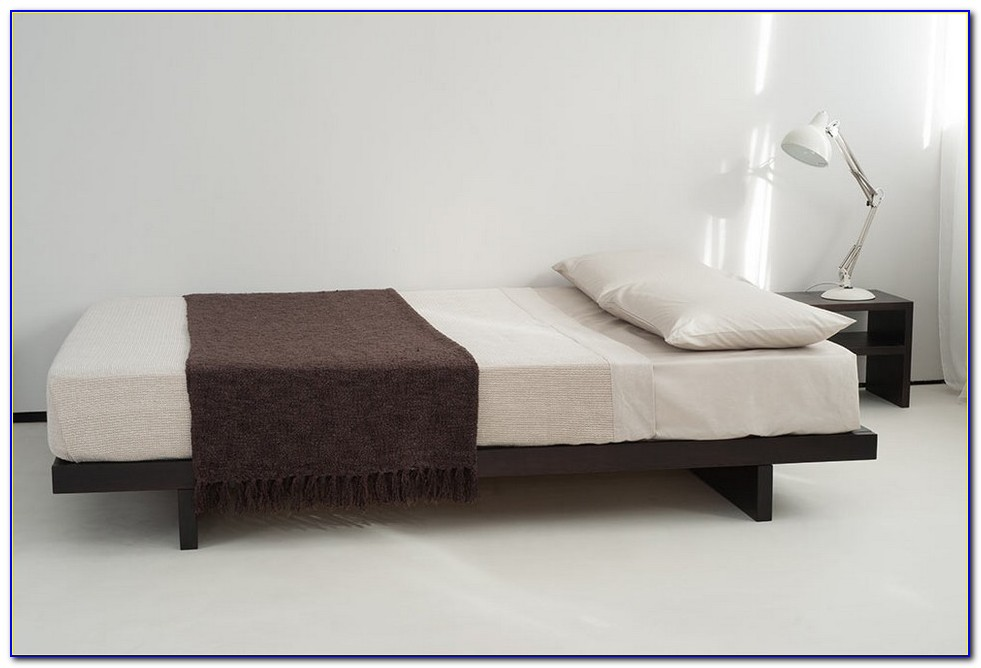 Solid Wood Bed Frame Without Headboard