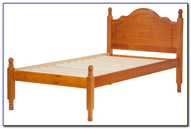 Solid Wood Twin Headboard Footboard