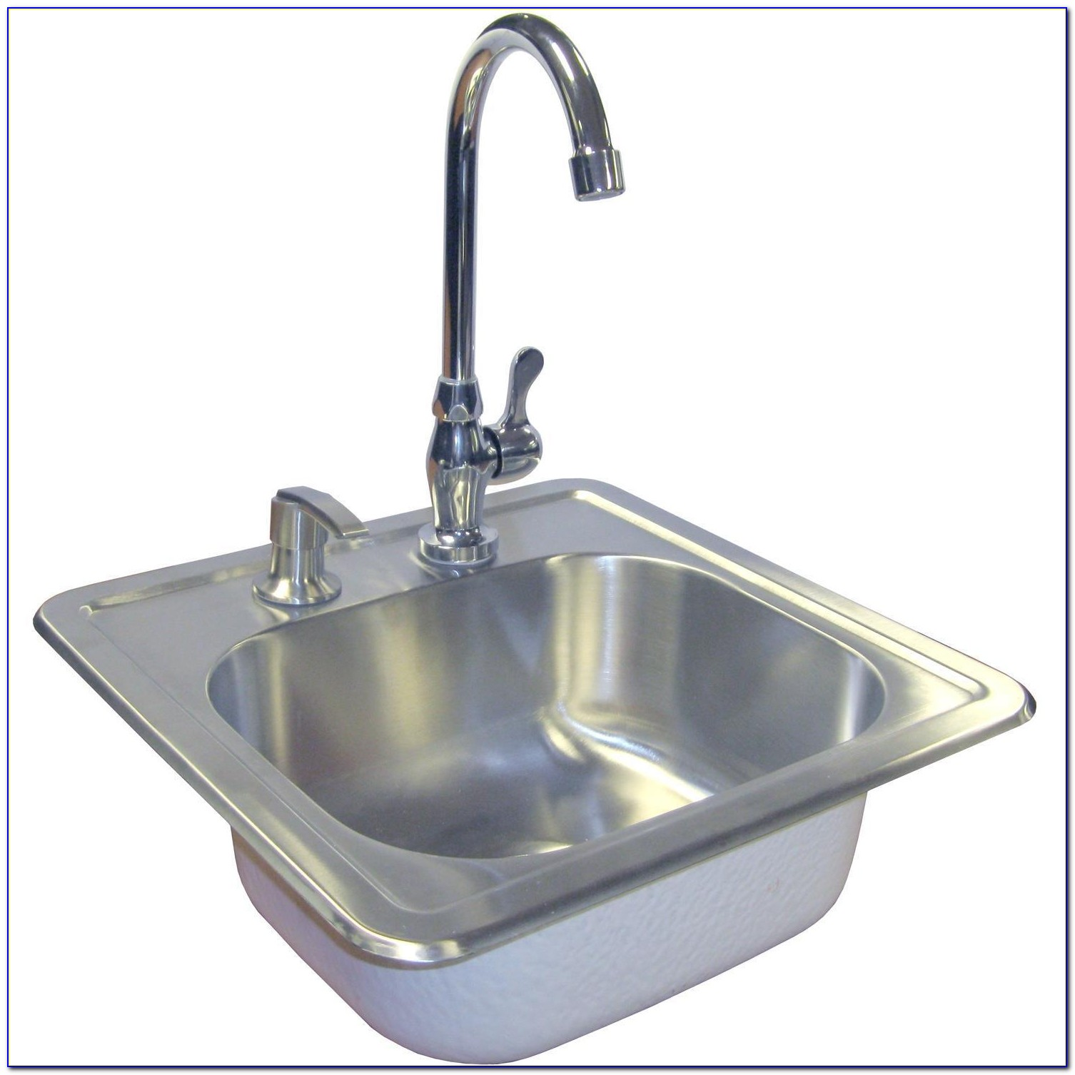 Stainless Steel Bathroom Sink Faucets