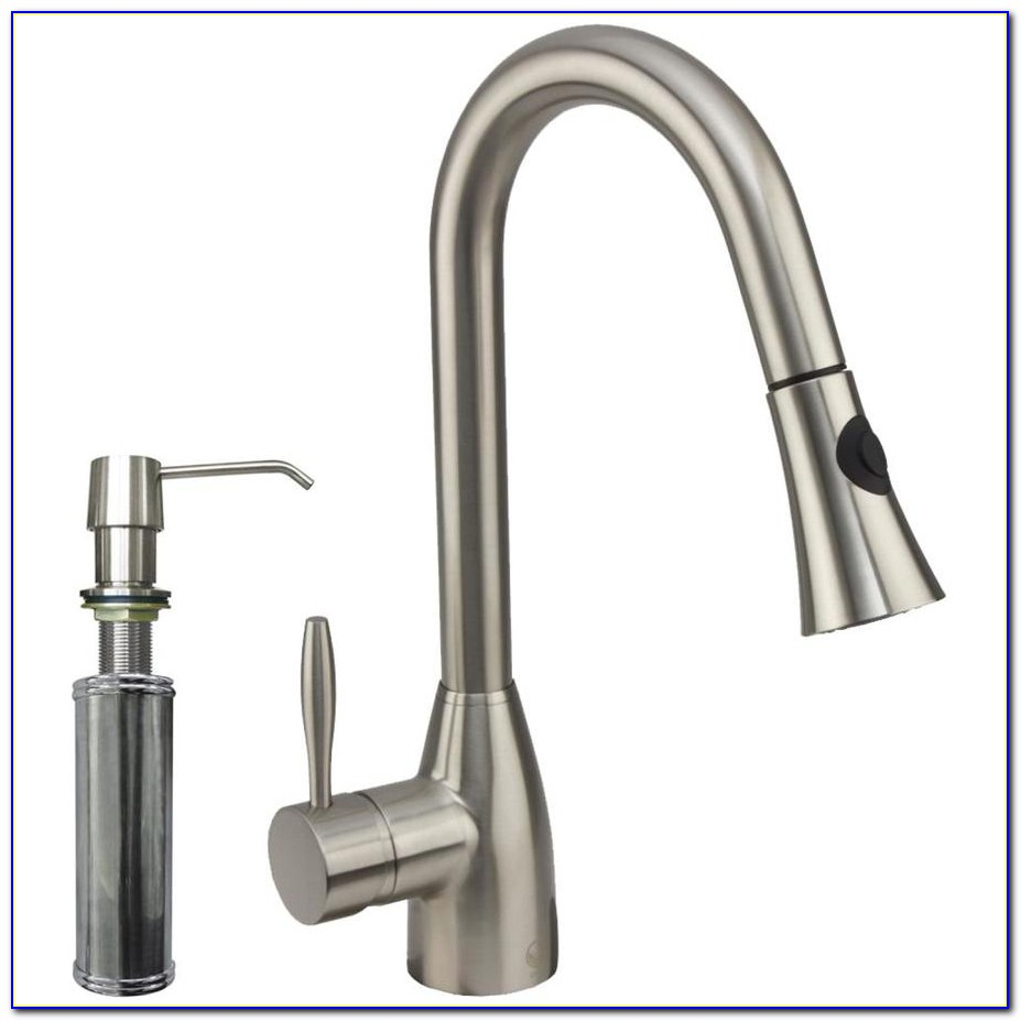 Stainless Steel Kitchen Faucet With Side Spray