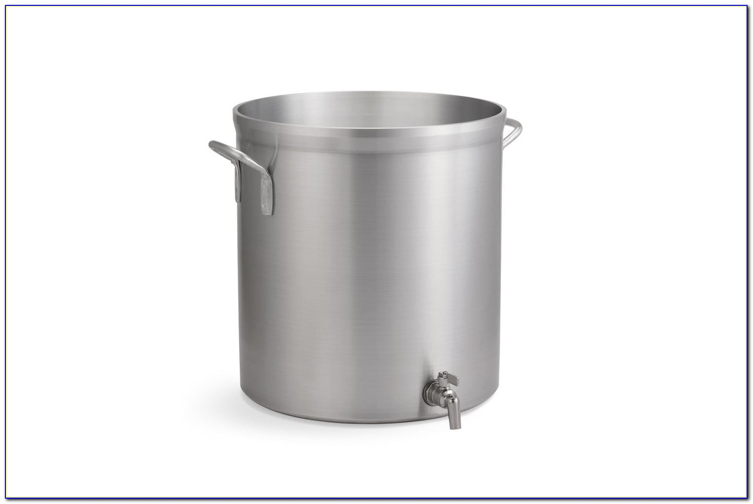 Stainless Steel Stock Pot With Faucet