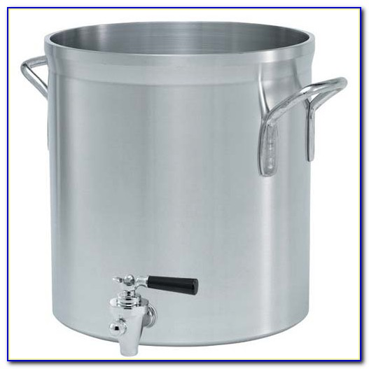 Stock Pot With Faucet