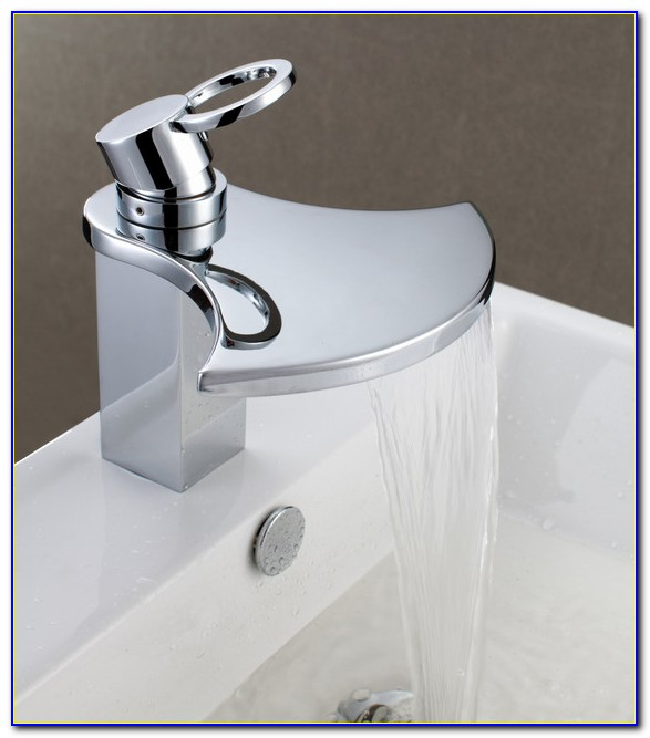 Sumerian Bathroom Sink Waterfall Faucet