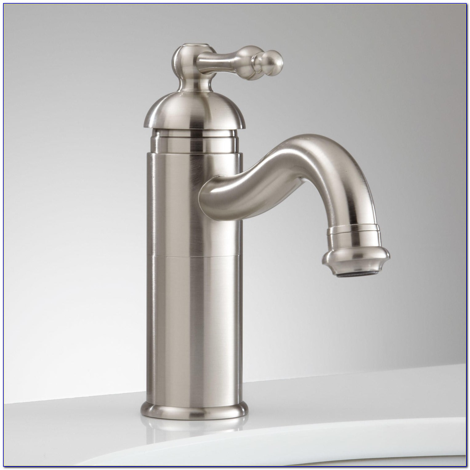 Tall Single Hole Bathroom Sink Faucet