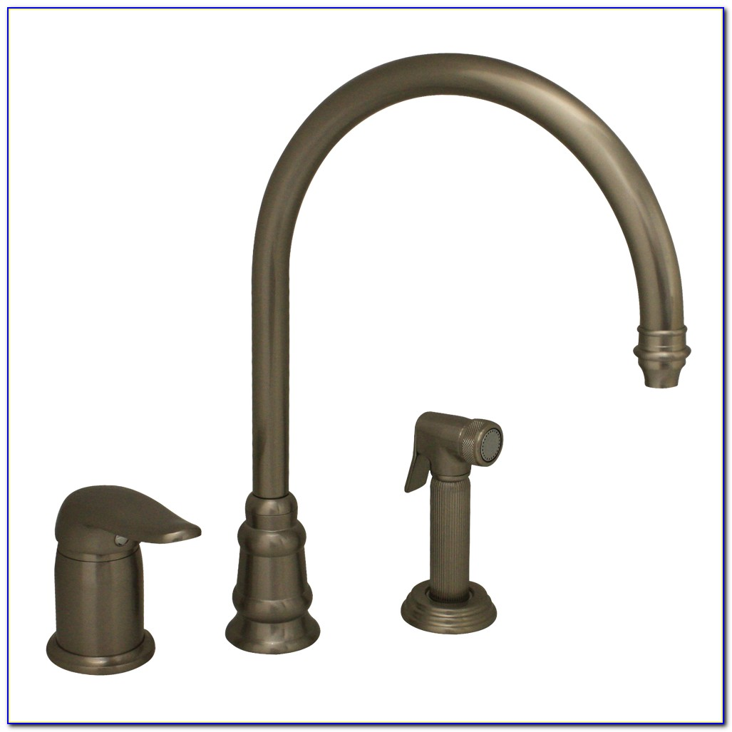 Three Hole Kitchen Faucet Set
