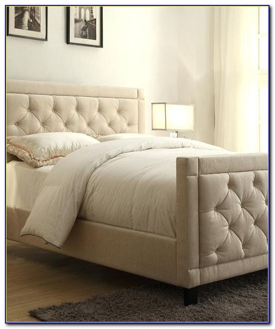 Tufted Headboard And Footboard Twin