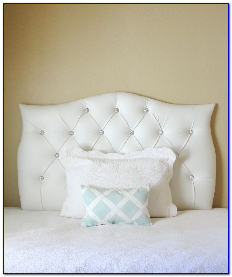 Tufted Headboard With Crystal Buttons