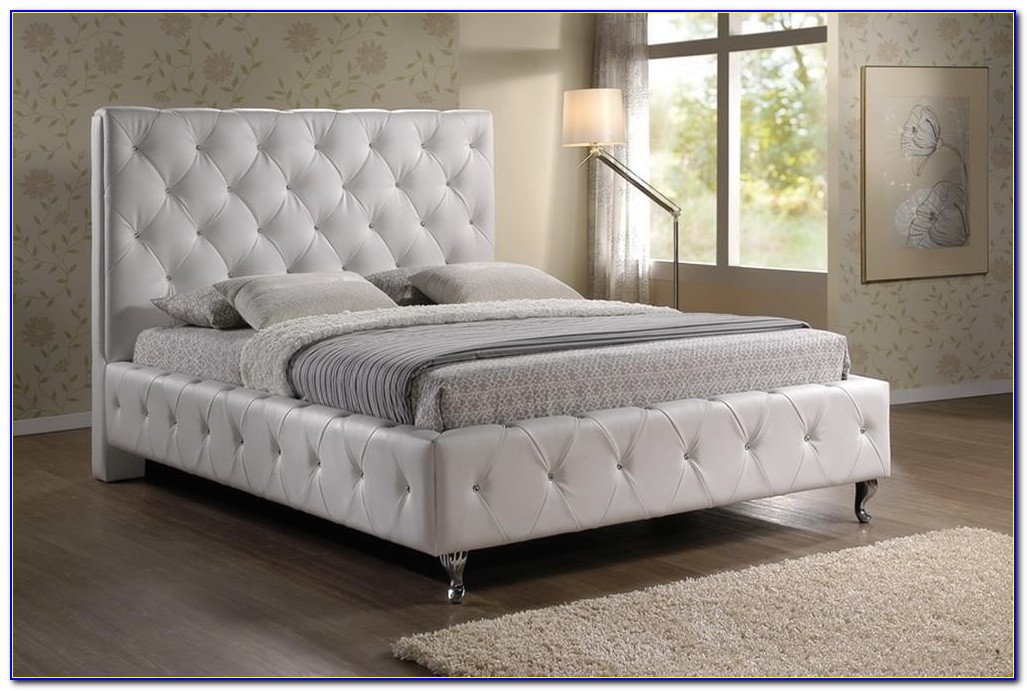 Tufted Headboard With Crystals