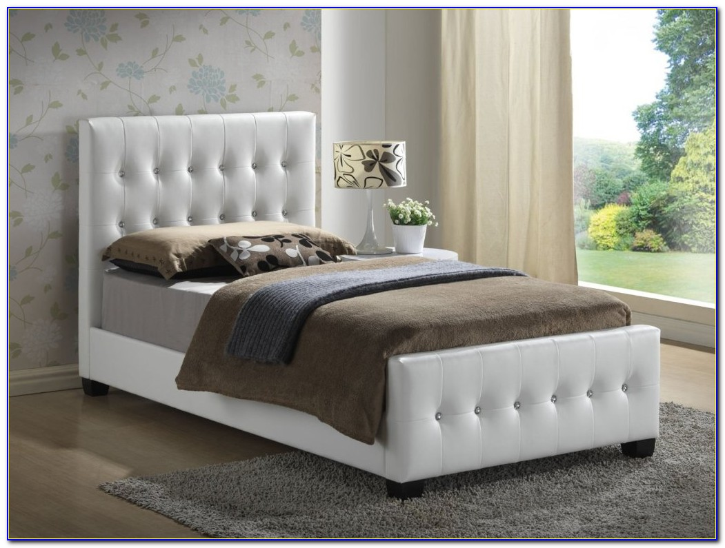Twin Bed Frame Headboard