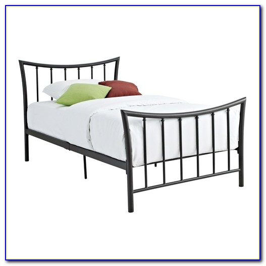 Twin Bed Frame With Headboard Brackets