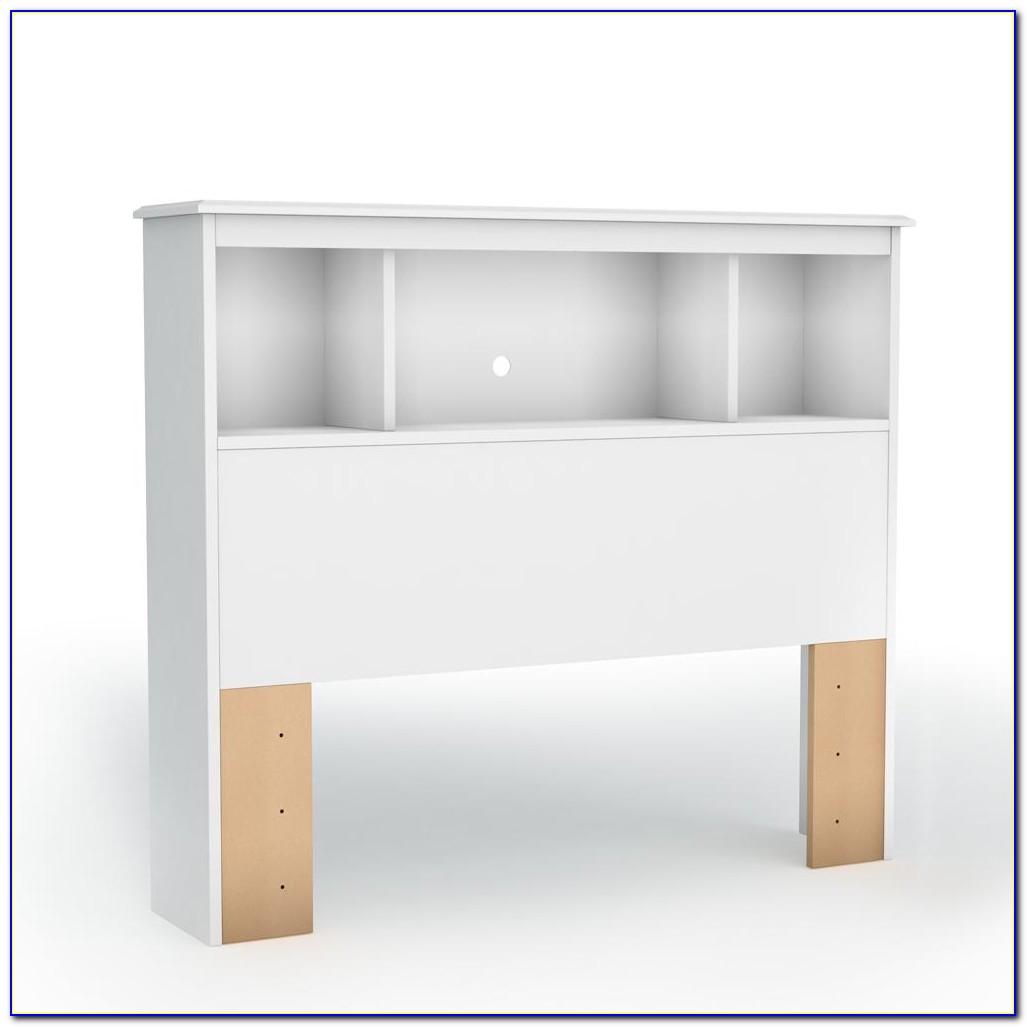 Twin Bed With Bookshelf Headboard