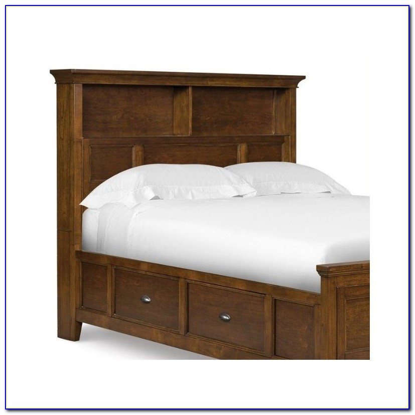 Twin Headboard With Shelf