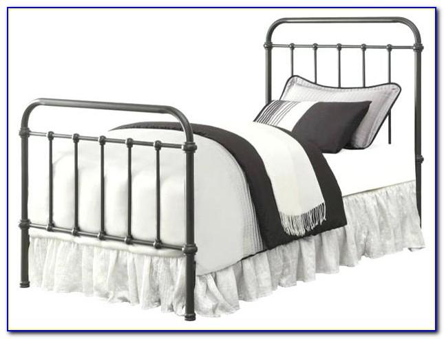 Twin Metal Bed Headboard And Footboard