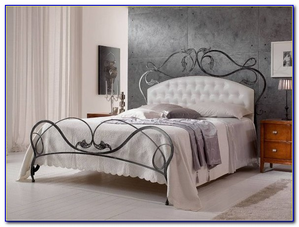 Twin Size Wrought Iron Headboard