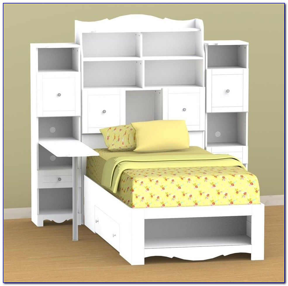 Twin Storage Bed No Headboard