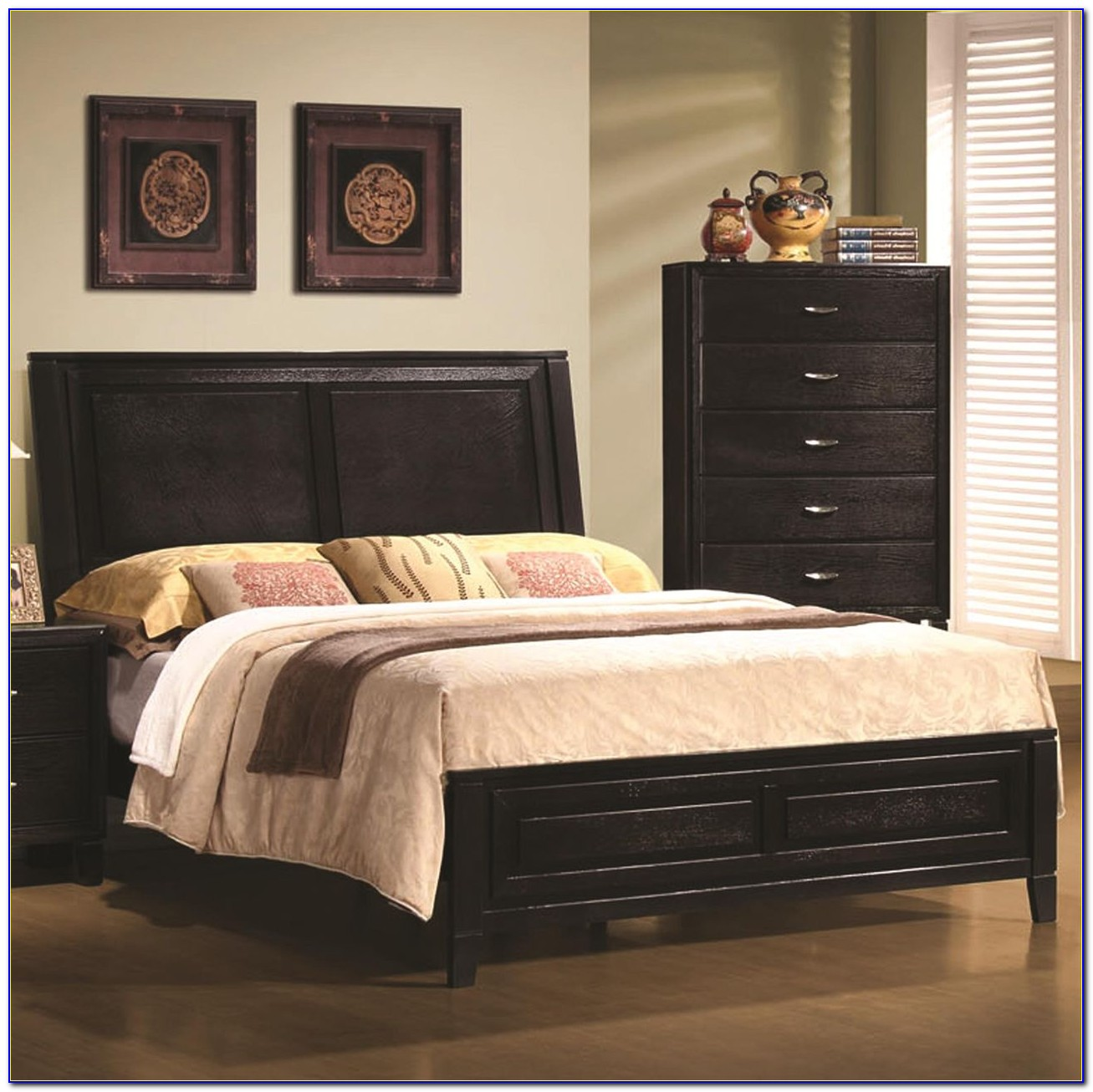 Upholstered Headboard And Footboard Beds