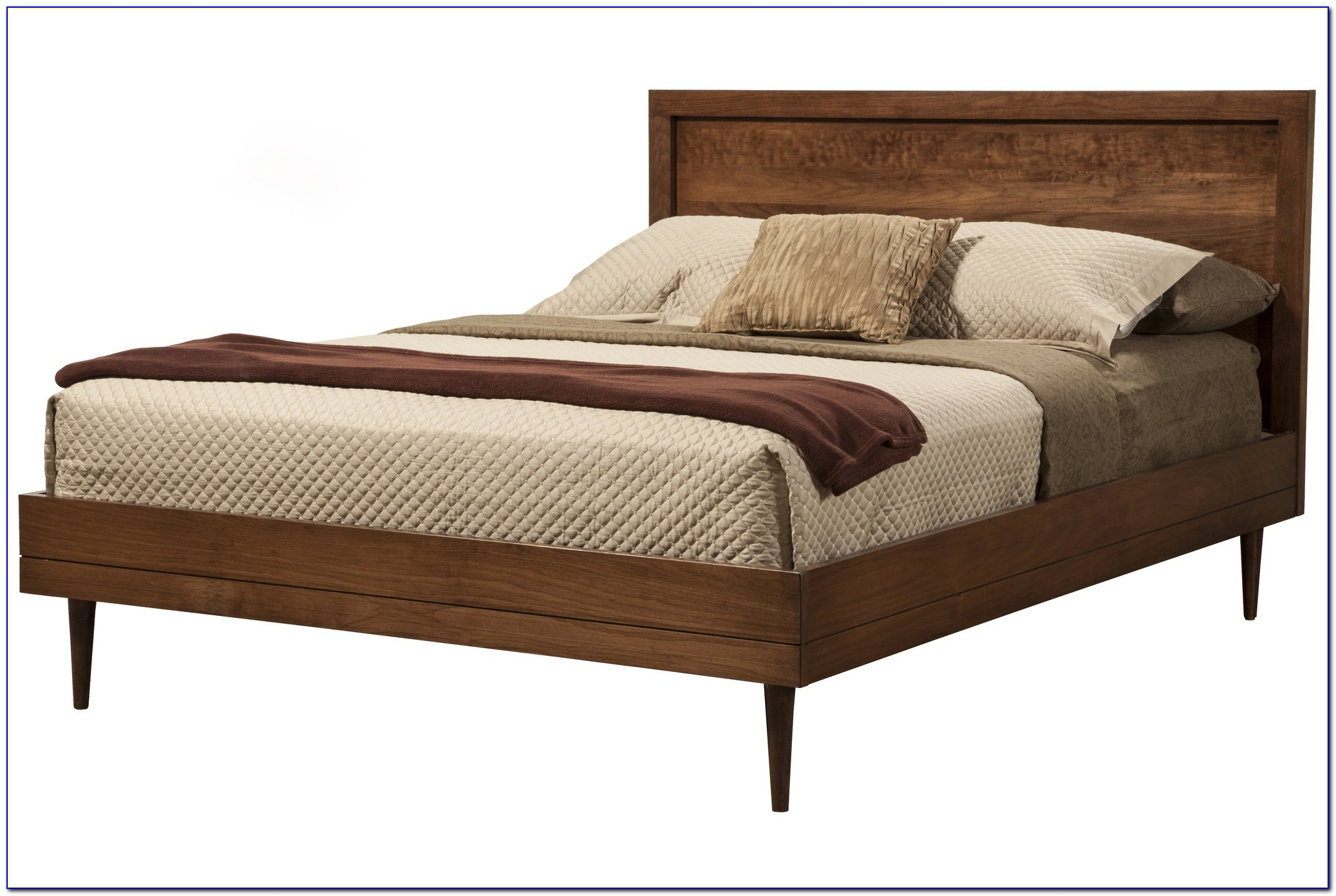 Upholstered King Bed Frame And Headboard