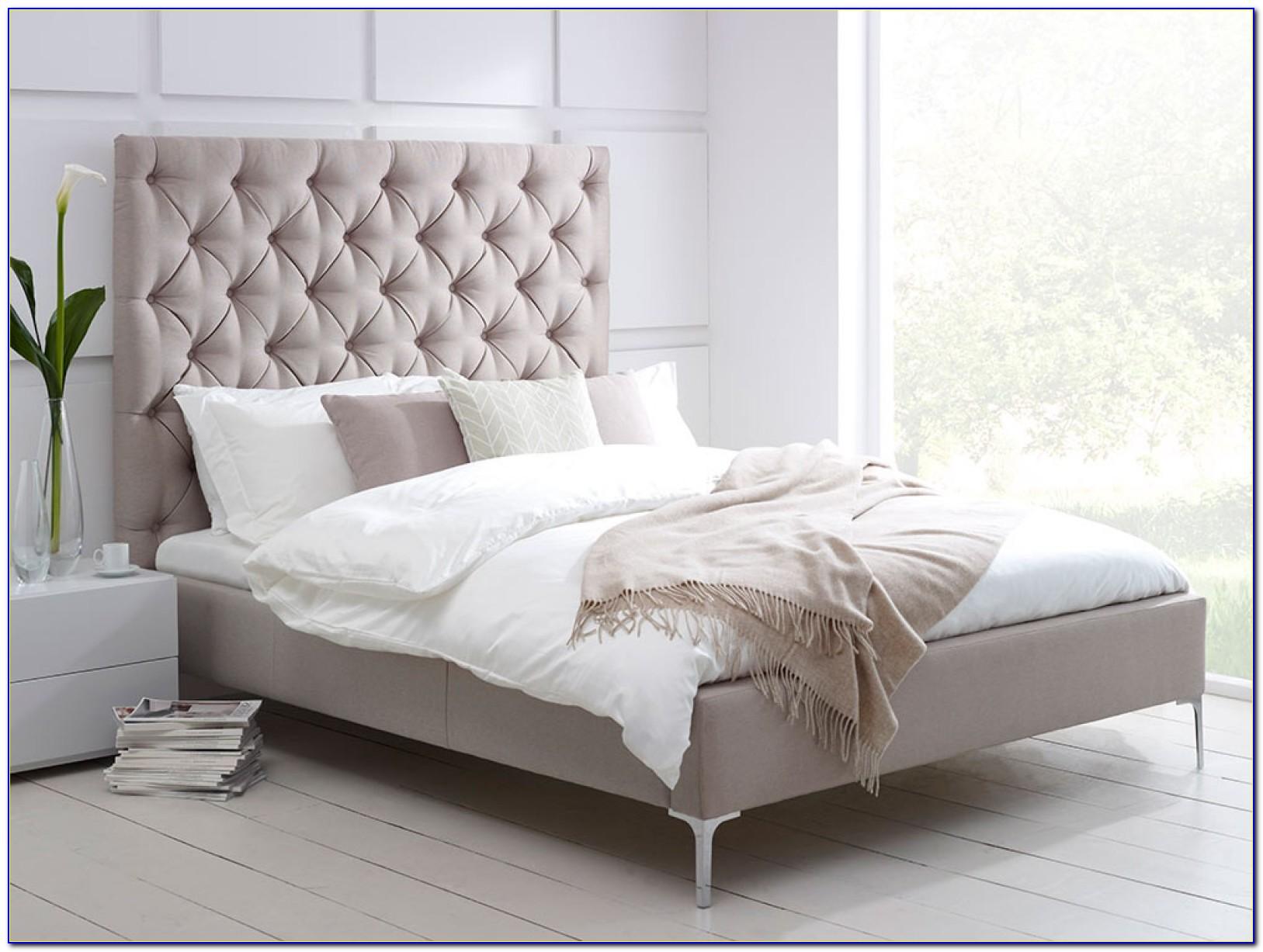Upholstered Platform Bed Frame Without Headboard